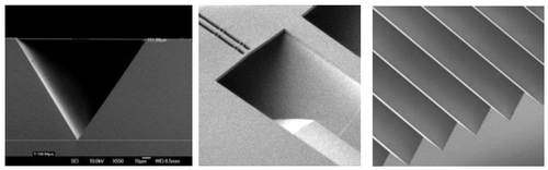 Precision fiber groove formation (Source: IME)