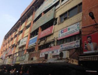 This building can be considered India's Huaqiang Electronic World.