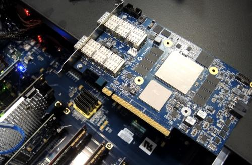 The Kalray coprocessor aims to offload from a host NVMe-over-fabric traffic.