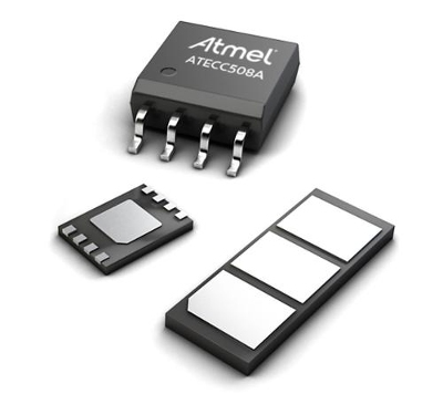 Microchip's Atmel subsidiary makes the ECC508 available in a variety of package types. (Source: Microchip)