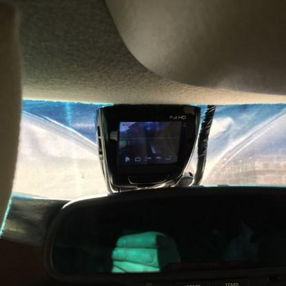 ADAS-1000 main camera display & touch screen 