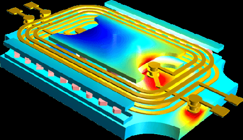 Simulation software goes a long way in helping you predict how a design should work, but you still need an understanding of what's going on. (Source: Comsol)