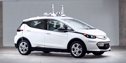 Chevrolet Bolt EV With Cruise Automation Tech (Source: GM)