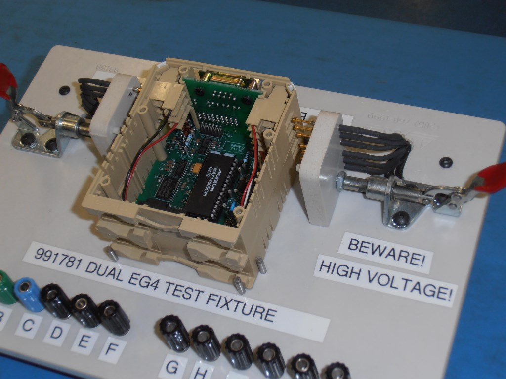 The Art Of Test Part 1 Boards Subassemblies Products Ee Times Picture Prototyping Circuit A Fixture To Allow Rapid Connection And Release Finished Product