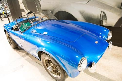 This is where it all began: the Shelby Cobra No. 1. This is also where the slideshow begins. Click the image to see other Shelby automobiles and where the Cobras (and others) are built.
