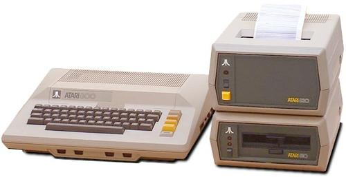 The Atari 800 shipped in December 1978. It was a powerful system for its time, featuring 8k of RAM and four slots for cartridges that could hold games or applications. With a list price of $999 it wasn't cheap -- and the 170k floppy disk drives at $599 each didn't make it any more affordable. Nontheless, it was a successful system, introducing many individuals to the possibiity of a 'real' personal computer.
