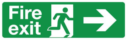 Which Fire Escape Signs? Quick Guide to BS EN ISO 7010
