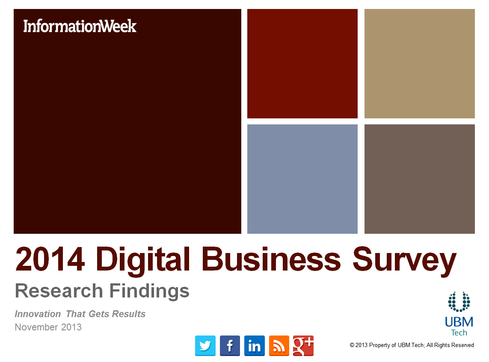 2014 Digital Business Survey