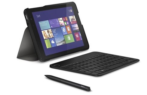 Dell's Venue 8 Pro supports stylus and keyboard accessories.