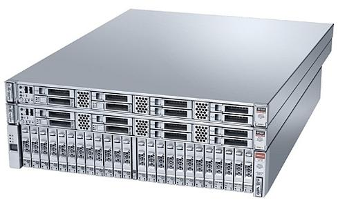 The 18-terabyte Oracle Database Appliance X3-2.