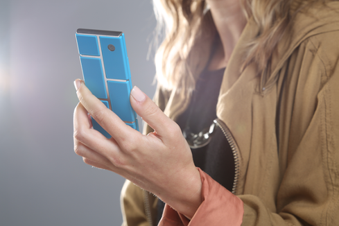 Project Ara prototype.(Source: Motorola)