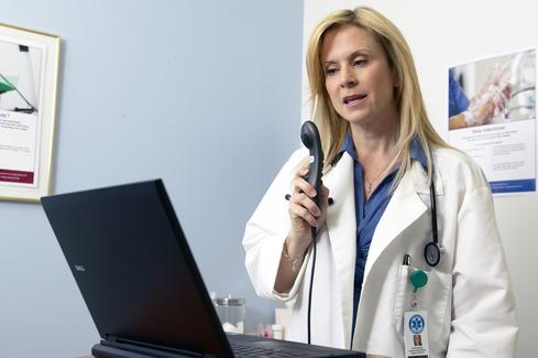 Nuance Powermic improves automated transcription of medical notes.(Source: Nuance)