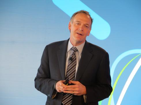 Mike Rhodin, senior VP of IBM Watson Group, says cognitive-computing systems will deliver value 'in months, not years.'