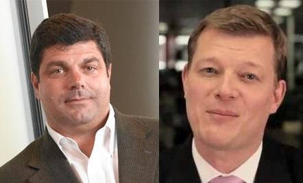 Bob Calderoni, left, and Lars Dalgaard both resigned from SAP's cloud leadership post.