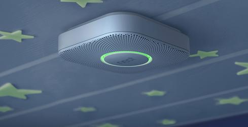 Nest Protect smoke detector.