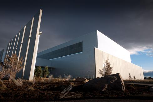 Facebook's Prineville, Ore., datacenter. (Source: Wikimedia Commons.)