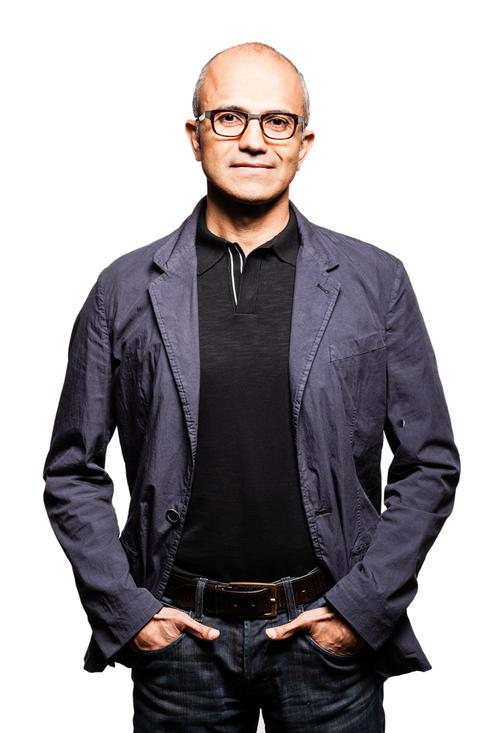 Microsoft executive VP Satya Nadella.(Source: Microsoft)