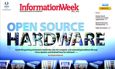 Open-Source Hardware: Prepare For Disruption - InformationWeek