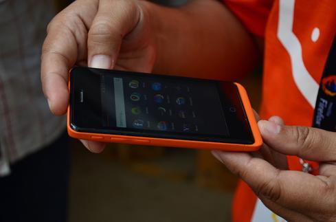 Mozilla's Firefox-based smartphone