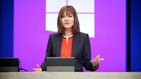 Nadella will need to create cohesion among senior execs, many of whom are adjusting to new positions. Executive VP Julie Larson-Green took over Microsoft's device efforts late last year.