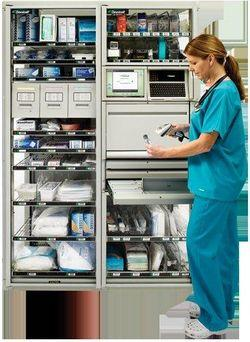 Omnicell medication management cabinet.