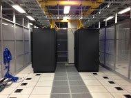 Servers in DigitalOcean's Singapore facility.  (Image credit: Digital Ocean.)
