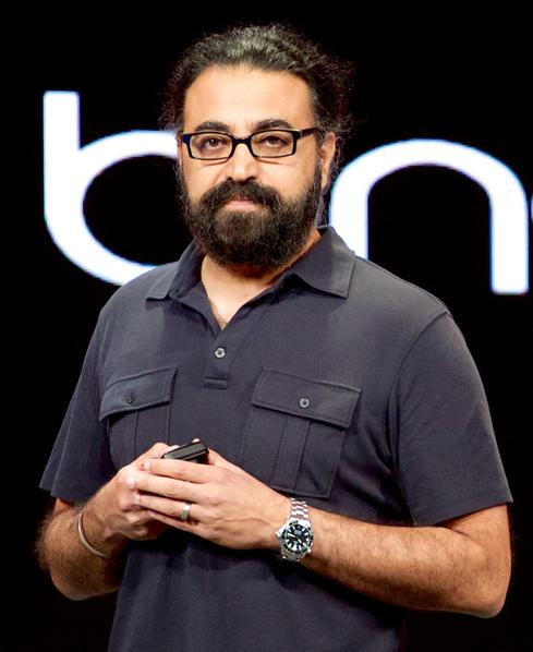 Microsoft Corporate VP for Lync & Skype Engineering Gurdeep Singh Pall.
