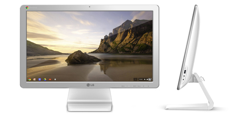 Chromebooks now come in a variety of form factors, such as LG's Chromebase, an all-in-one desktop.