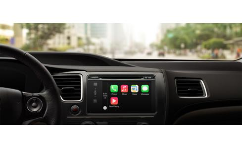 Apple CarPlay's home screen