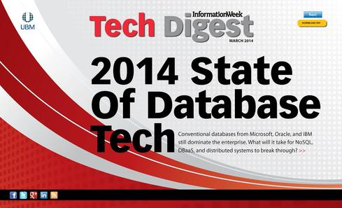 2014 State Of Database Tech: Think Retro