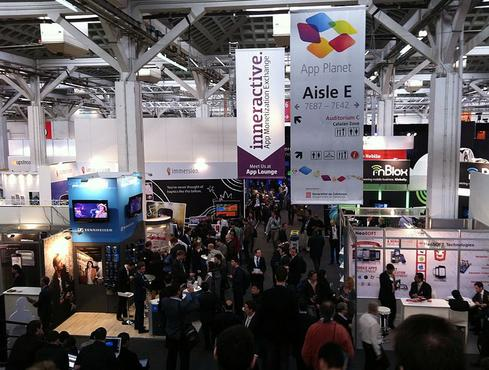 Mobile World Congress in Barcelona, Spain (Wikimedia).
