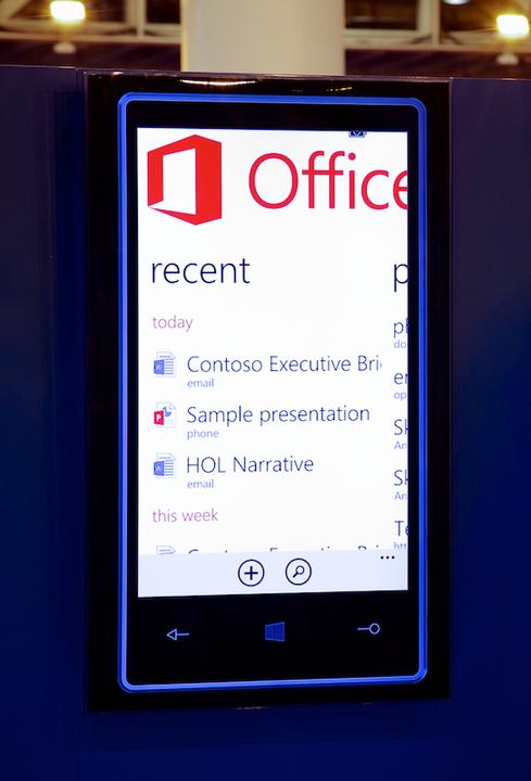 Office for iPads could resemble Office Mobile.