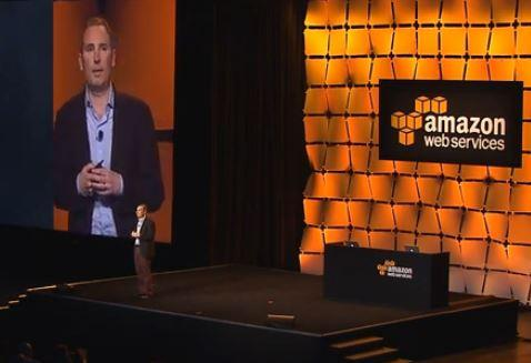 Andy Jassy at AWS Summit 2014. (Image: AWS video.)