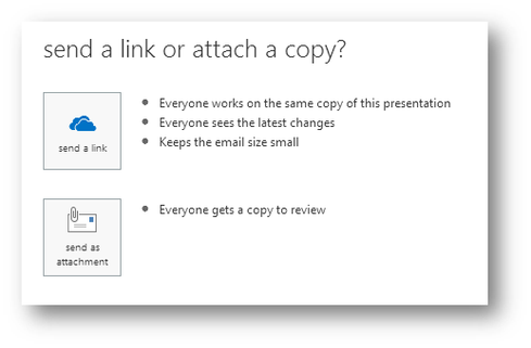 If you're tired of huge email attachments clogging your inbox, Outlook Web App lets you use links instead.