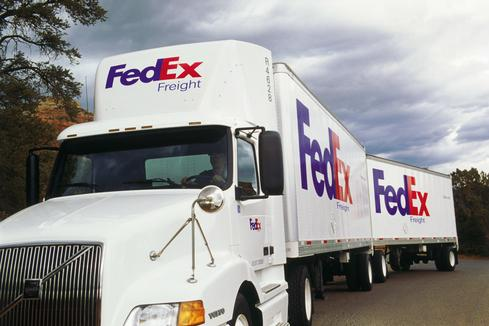 FedEx trucks contain sensors and GPS that communicate with EDEN, the company's messaging and scheduling system.