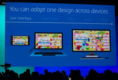Developers can now create universal apps for Windowssmartphones, tablets, and desktops.