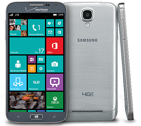 Samsung's ATIV SE smartphone. (Image: Verizon)