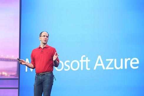 Microsoft's Scott Guthrie.(Source: Microsoft)