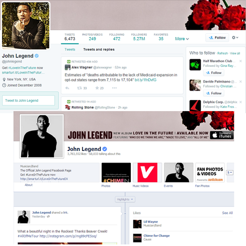 Profile makeover     