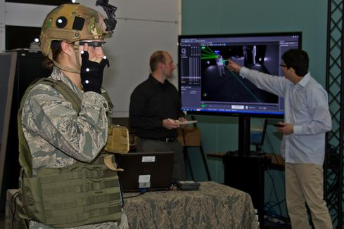 The Air Force's BATMAN team tests Google Glass