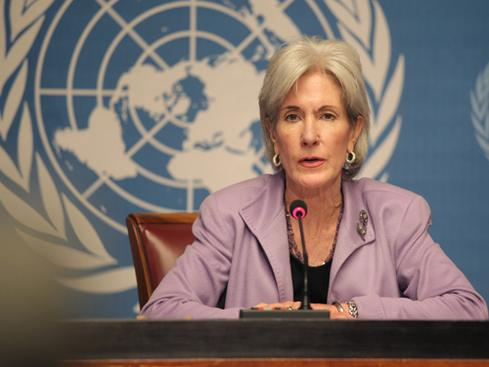 Former Secretary of Health and Human Services Kathleen Sebelius (Source: Wikimedia Commons)