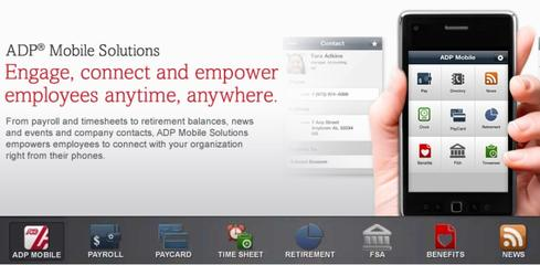 A new tablet app from ADP adds HR management features to existing mobile payroll and benefits functionality aimed at employees.