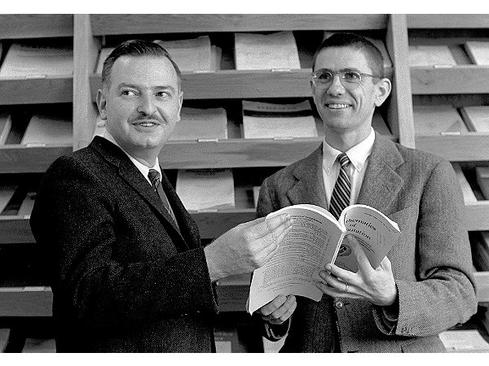 John G. Kemeny and Thomas E. Kurtz, creators of BASIC