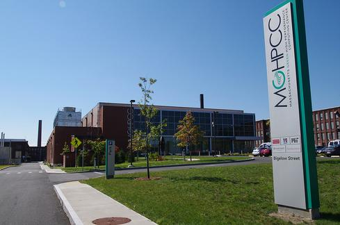 The Massachusetts Green High Performance Computing Center facility