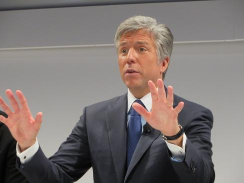 SAP CEO Bill McDermott at Sapphire 2014.