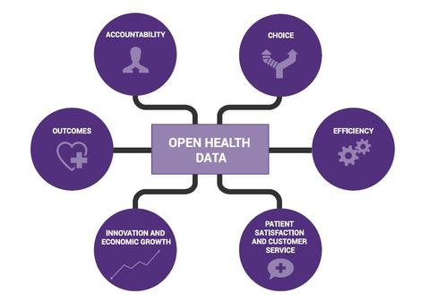 NHS identified six 'value propositions' that it says can be improved through open data initiatives in the health sector.
