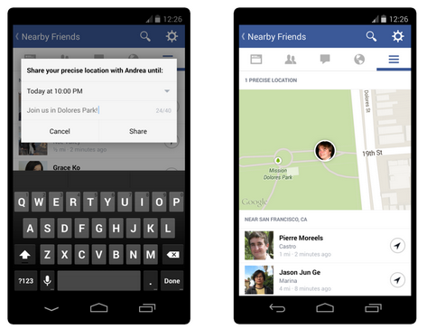 Delete your location information from Nearby FriendsOne of Facebook's newest features, called Nearby Friends, alerts your friends when you're in close proximity. If you turn on this optional feature, you can pick and choose with whom you want to share your location -- all your friends, a small group, or specific individuals.  When you turn on Nearby Friends, you also turn on Facebook Location History. Facebook uses this information to build a database of the places you've been, even when you're not using the app. Facebook will add your locations to the Location History section of your activity log, but only you will be able to see this.  Although Facebook automatically turns on your Location History, you can switch it off. To do this, tap the More button, then Nearby Friends, then tap the gear icon. From that list, tap Location Settings, then switch the location history feature to off.  If you no longer use Nearby Friends, you can delete past locations from your history as well. To remove places individually, navigate to your activity log from your desktop and click More, then Location History. Click the delete button next to the location you want to remove, then select Delete from the drop-down menu. To clear your entire location history, click Clear Location History at the top of the page.