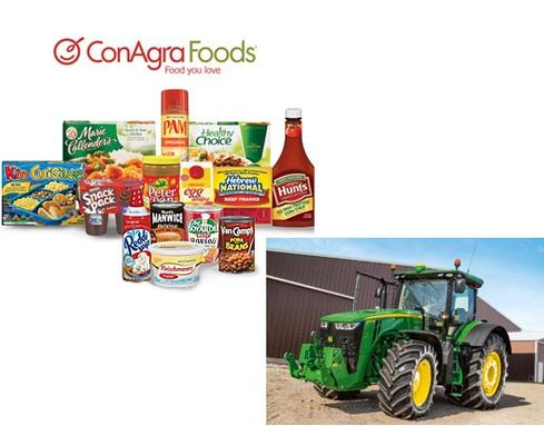 ConAgra Foods and Deere & Company are among the largest customers moving workloads to SAP's Hana platform.