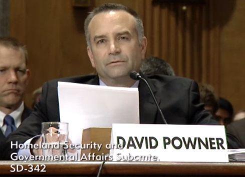 GAO's David Powner (Source: U.S. Senate video)