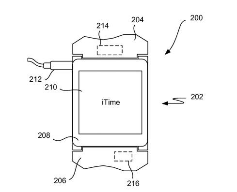 Apple 'iTime' Patent Describes Modular Wearable
